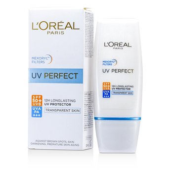 LOreal Dermo-Expertise UV Perfect Long Lasting UVA/UVB Protector SPF50 PA+++ - #Transparent Skin