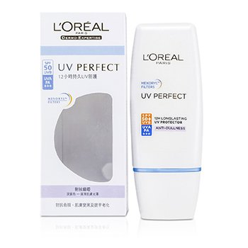 LOreal Dermo-Expertise UV Perfect Long Lasting UVA/UVB Protector SPF50 PA+++ - #Anti-Dullness