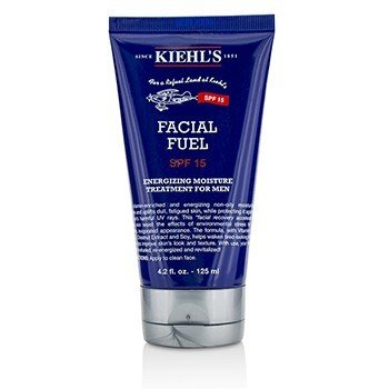 Kiehls Facial Fuel SPF 15 Sunscreen Energizing Moisture Treatment