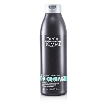 LOreal Professionnel Homme Cool Clear Anti-Schuppen Shampoo