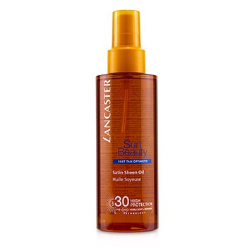 Sun Beauty Satin Sheen Oil Fast Tan Optimizer SPF30