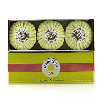 Roger & Gallet Fleur d Osmanthus Perfumed Soap Coffret