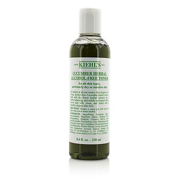 Kiehls Cucumber Herbal Alcohol-Free Toner - For Dry or Sensitive Skin Types