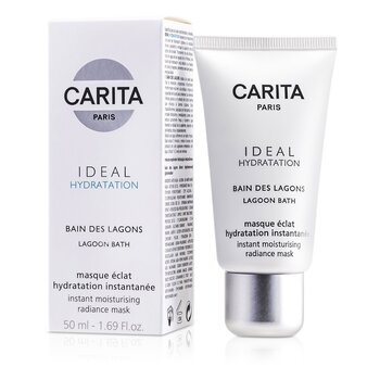 Carita Ideal Hydratation Lagoon Bath Instant Moisturising Radiance Mask