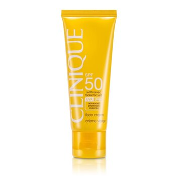 Clinique Sun SPF 50 Face Cream UVA/UVB