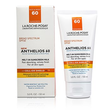 La Roche Posay Anthelios 60 Melt-In Sunscreen Milk (For Face & Body) (Box Slightly Damaged)