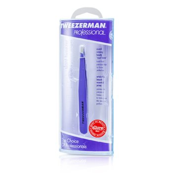 Tweezerman Professional Slant Tweezer - Blooming Lilac