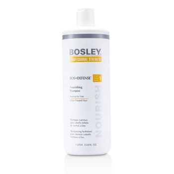Bosley Professional Strength Bos Defense Nourishing Shampoo (For Normal to Fine Color-Treated Hair)