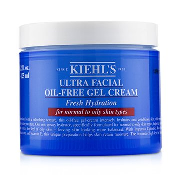 Kiehls Ultra Facial Oil-Free Gel Cream - For Normal to Oily Skin Types