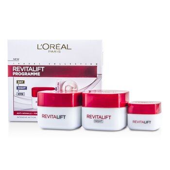 LOreal Revital Lift Programme: Day Cream + Eye Cream + Night Cream