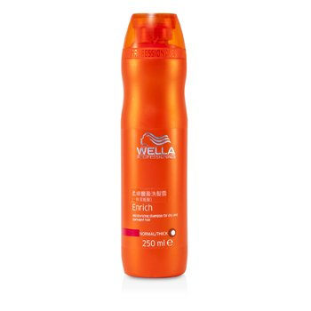 Wella Enrich Moisturizing Shampoo For Dry & Damaged Hair (Normal/ Thick)