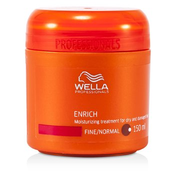 Wella Enrich Moisturizing Treatment for Dry & Damaged Hair (Fine/Normal)