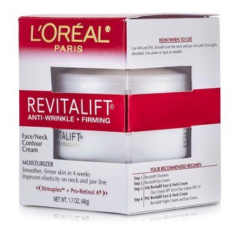 LOreal RevitaLift Anti-Wrinkle + Firming  Face/ Neck Contour Cream