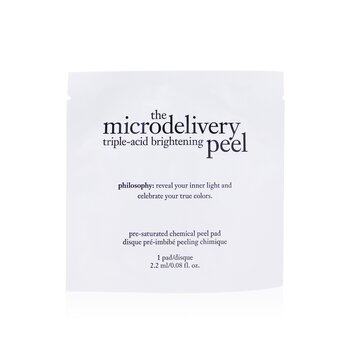 Philosophy The Microdelivery Triple-Acid Brightening Peel Pads