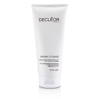 Decleor Aroma Cleanse 3 in 1 Hydra-Radiance Smoothing & Cleansing Mousse