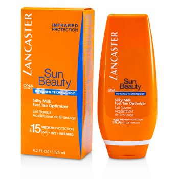 Lancaster Sun Beauty Silky Milk Fast Tan Optimizer SPF15 (Face & Body)