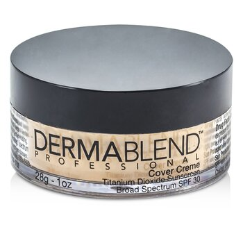 Dermablend Cover Creme Broad Spectrum SPF 30 (High Color Coverage) - Caramel Beige