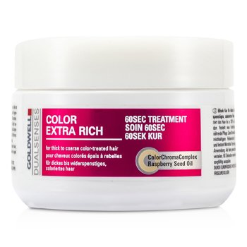 Goldwell Dual Senses Color Extra Rich 60 Sec Treatment (For Thick to Coarse Color-Treated Hair)