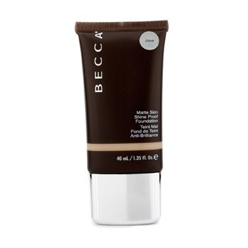 Matte Skin Shine Proof Foundation - # Olive
