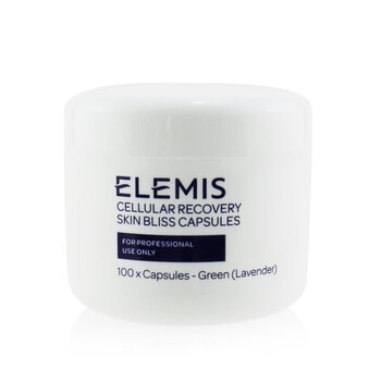 Elemis Cellular Recovery Skin Bliss Capsules (Salon Size) - Green Lavender