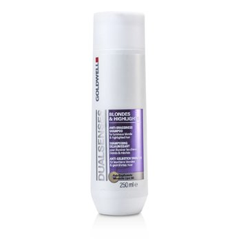 Dual Senses Blondes & Highlights Anti-Brassiness Shampoo (For Luminous Blonde & Highlighted Hair)