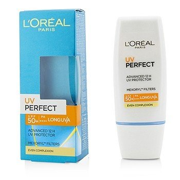 LOreal Dermo-Expertise UV Perfect 12H LongLasting UVA/UVB Protector SPF50+/PA+++ - #Even Complexion