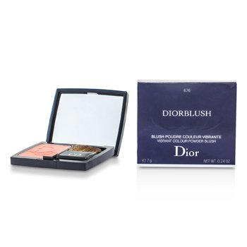 DiorBlush Vibrant Colour Powder Blush - # 676 Coral Cruise