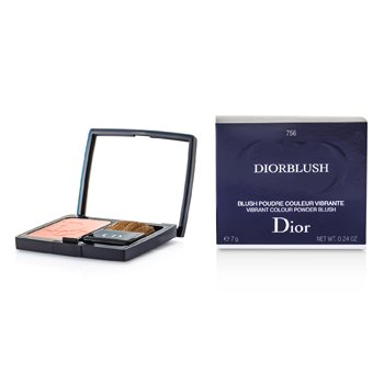 Christian Dior DiorBlush Vibrant Colour Powder Blush - # 756 Rose Cherie