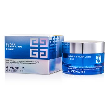 Givenchy Hydra Sparkling Night Short Night Recovery Moisturizing Mask/ Cream