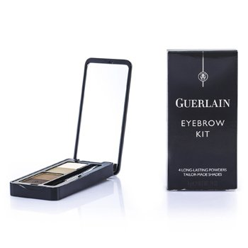 Guerlain Eyebrow Kit (3x Powder, 1x Highlighter, 1x applicator) - # 00 Universel