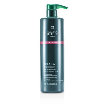 Rene Furterer Okara Protect Color Color Radiance Ritual Radiance Enhancing Shampoo - Color-Treated Hair (Salon Product)