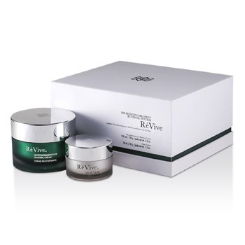 Re Vive Microdermabrasion Renewal System: Renewal Creme 100ml + Gelee Calme 30ml (White Gift Box)