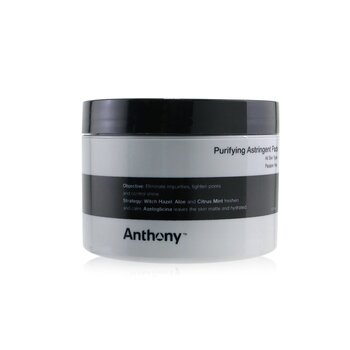Anthony Logistics For Men Purifying Astringent Pads (For All Skin Types)