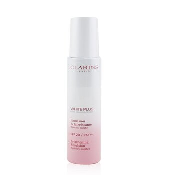 Clarins White Plus Total Luminescent Brightening Hydrating Emulsion SPF20 / PA+++