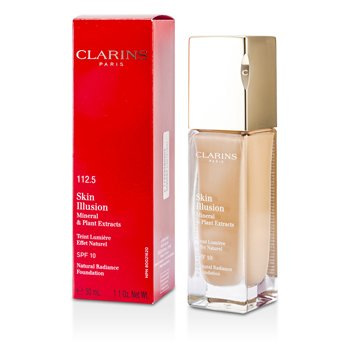 Clarins Skin Illusion Natural Radiance Foundation SPF 10 - # 112.5 Caramel