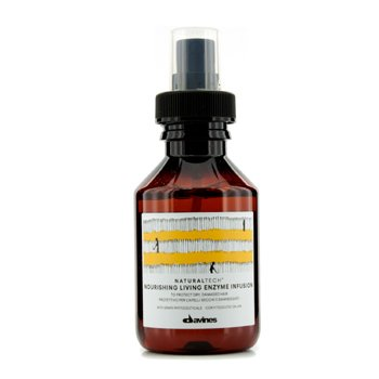Davines Natural Tech Nourishing Living Enzyme Infusion (To Protect Dry, Damaged Hair)