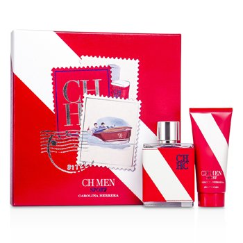 Carolina Herrera CH Sport Coffret: Eau De Toilette Spray 100ml + After Shave Balm 100ml