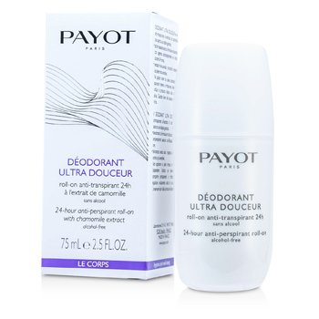 Payot Le Corps Deodorant Ultra Douceur - 24-Hour Anti-Perspirant Roll-On (Alcohol-Free)