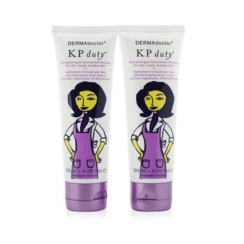 DERMAdoctor KP Double Duty Duo Pack - Dermatologist Moisturizing Therapy (For Dry Skin)