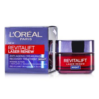 LOreal Revitalift Laser Renew Anti-Ageing Cream-Mask Recovery Treatment Night