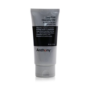 Anthony Logistics For Men Deep Pore Cleansing Clay (Normal To Oily Skin)