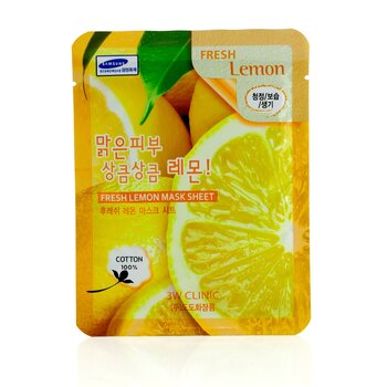 3W Clinic Mask Sheet - Fresh Lemon