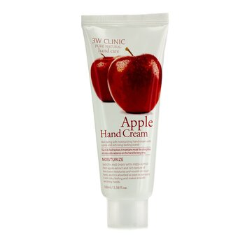 3W Clinic Hand Cream - Apple