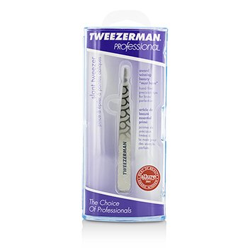 Professional Slant Tweezer - Regency Finish