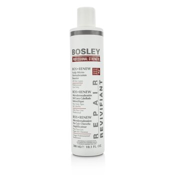 Bosley Professional Strength Bos Renew Scalp Micro-Dermabrasion Booster - Step 2 (For All Hair Types)