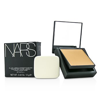 NARS All Day Luminous Powder Foundation SPF25 - Barcelona (Medium 4 Medium with golden peachy undertones)