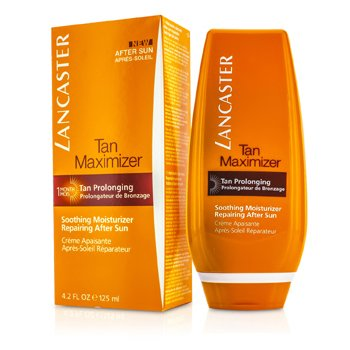 Lancaster Tan Maximizer Soothing Moisturizer Repairing After Sun