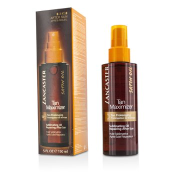 Lancaster Tan Maximizer Sublimating Oil Repairing After Sun