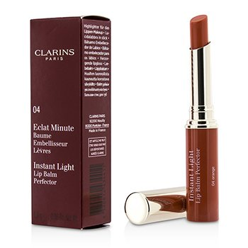 Clarins Eclat Minute Instant Light Lip Balm Perfector - # 04 Orange