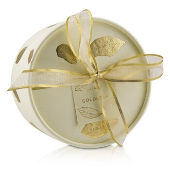 Thymes Goldleaf Perfumed Dusting Powder with Puff
